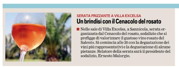 Gazzetta Del Mezzogiorno di Lecce - XVIII di Venerdì 7 Febbraio 2014